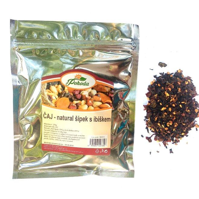 Natural šípek a ibišek, 250 g