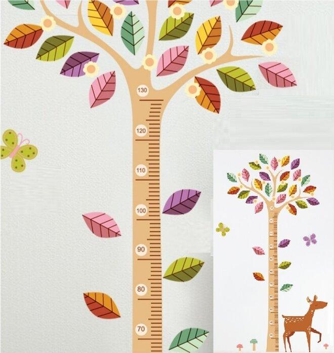 Metr na stěnu - Dětský strom