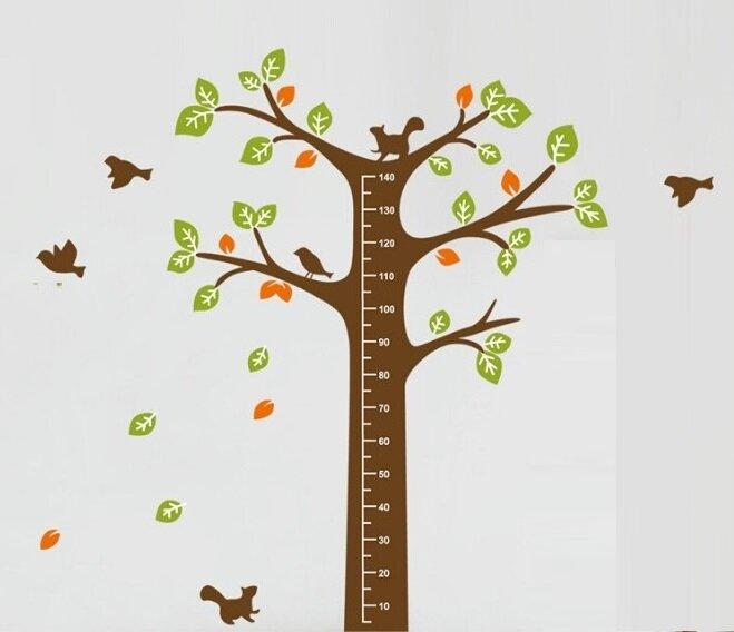 Metr na stěnu - Velký strom