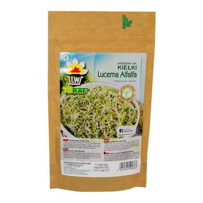 Vojtěška XXL balení – semena na klíčky, 100 g