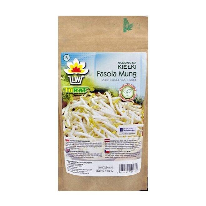 Fazole mungo XXL balení – semena na klíčky, 250 g