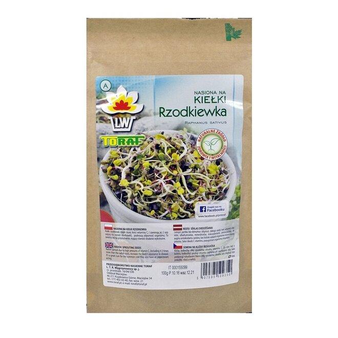 Ředkvička XXL balení – semena na klíčky, 100 g