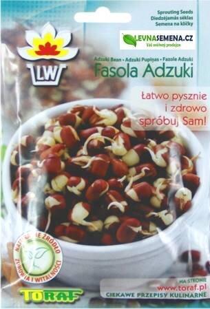 Fazole Adzuki semena na klíčky, 50 g