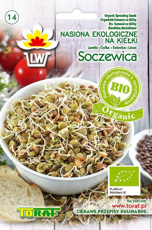 Čočka semena na klíčky v biokvalitě, 30 g