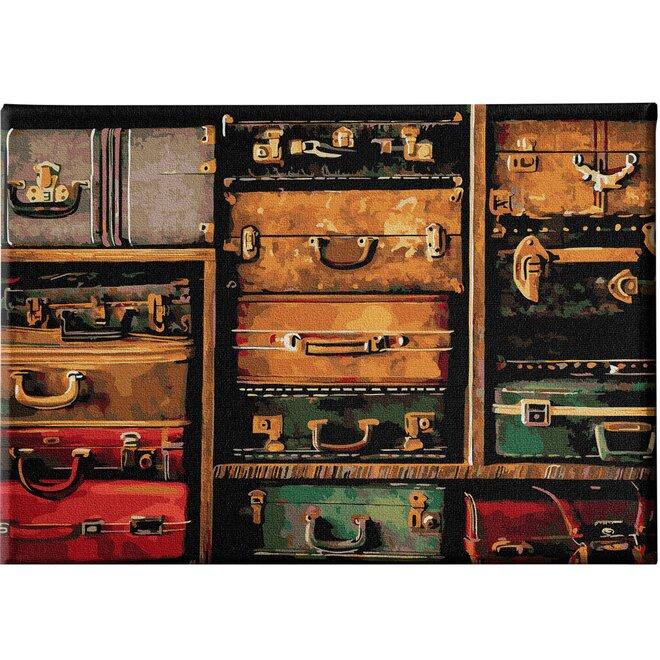 Starožitný kufr