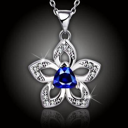 Okouzlující náhrdelník Jasmine Blue
