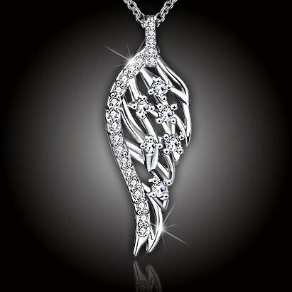 Andělsky krásný náhrdelník Angel Wing