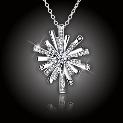 Překrásný náhrdelník Crystal Night Star