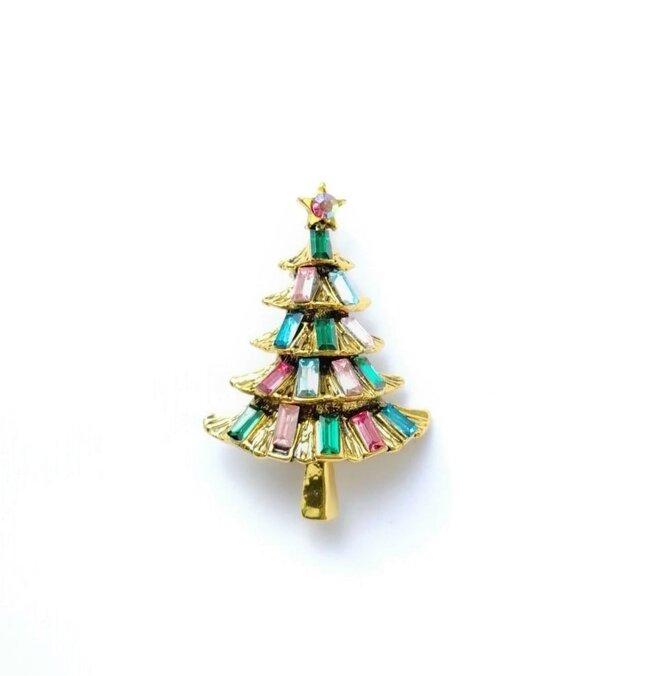 Vánoční stromek zlatý