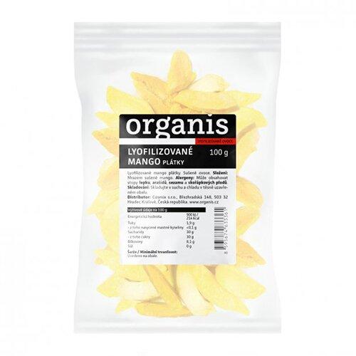 Mango sušené mrazem, 100 g