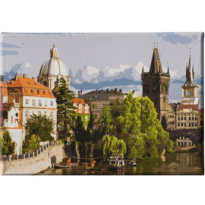Léto v Praze
