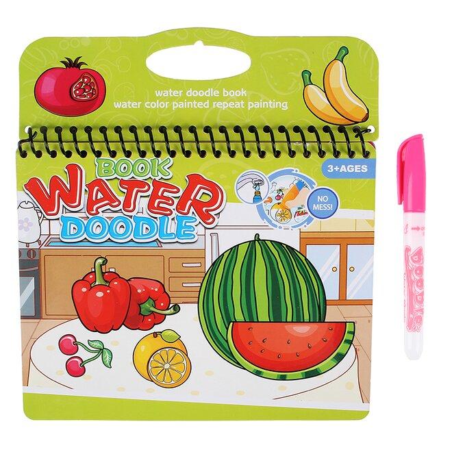 Vodní omalovánky – ovoce a zelenina