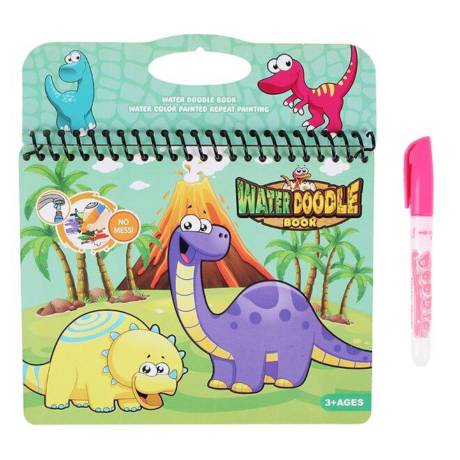 Vodní omalovánky – Dinosauři