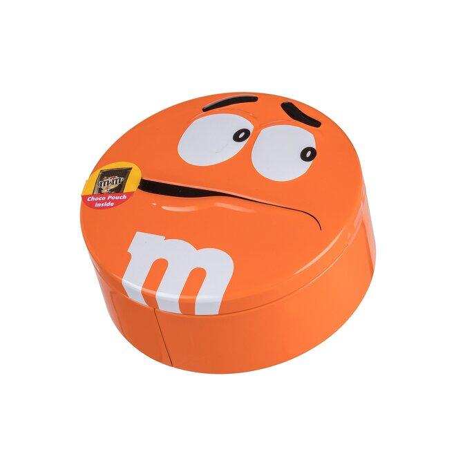 Čokoládové M&M's v dóze, 200 g – oranžová