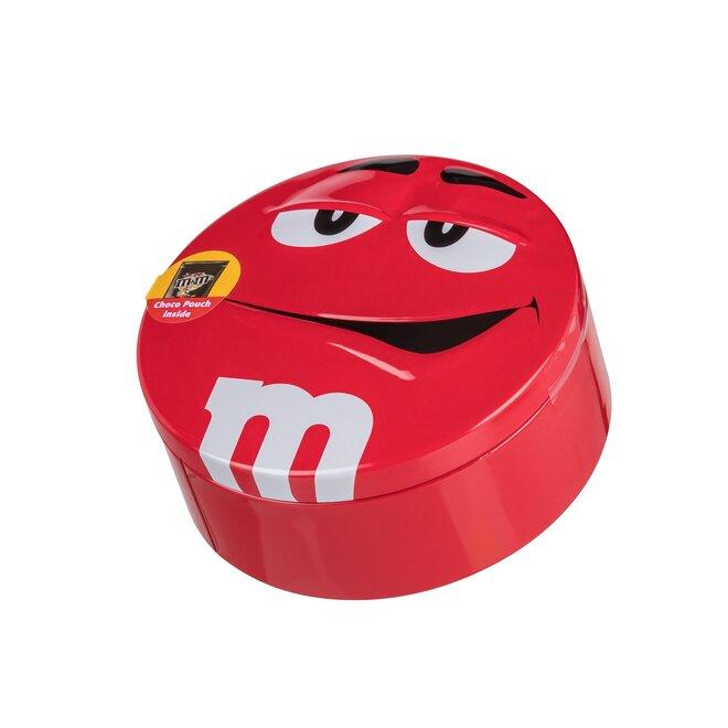 Čokoládové M&M's v dóze, 200 g – červená