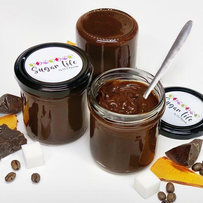 Čokoládový karamel s kávou, 150 g