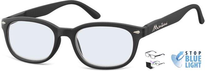 Brýle na počítač BLF70 - černé