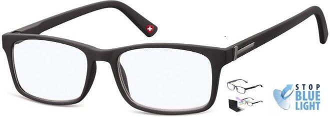 Brýle na počítač BLF73 - černé