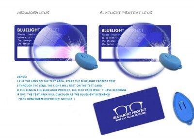 Test na brýle s ochranou proti modrému světlu