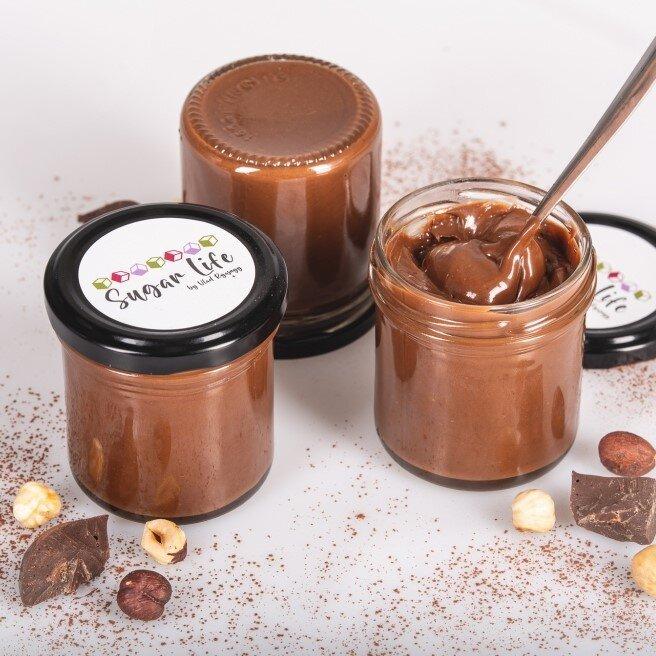 Čokoláda 25 % + lískový ořech 75 %, 150 g