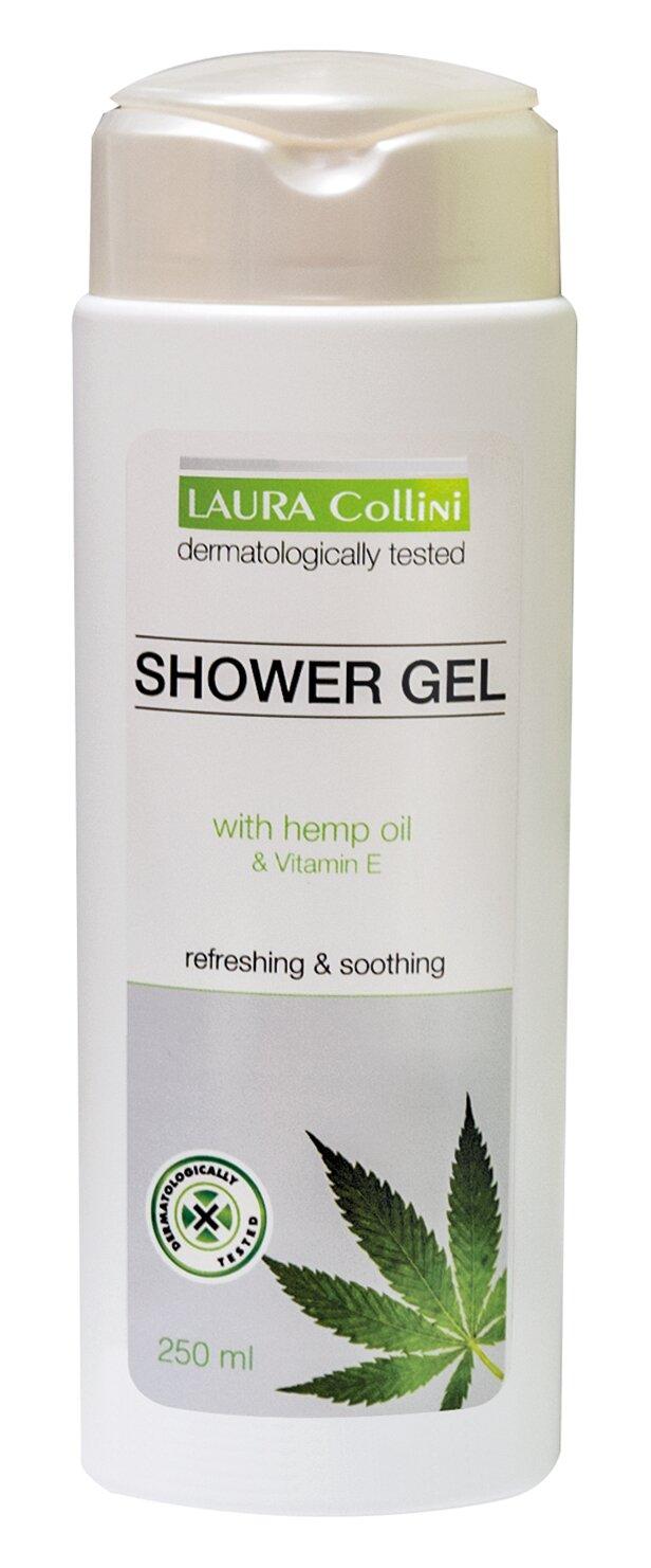Sprchový gel s konopným olejem, 250 ml