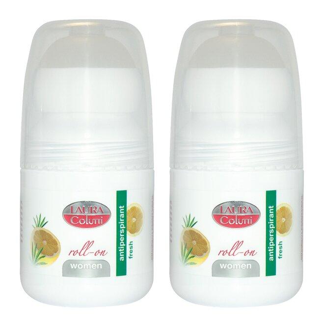 Kuličkový antiperspirant Fresh, 2× 50 ml