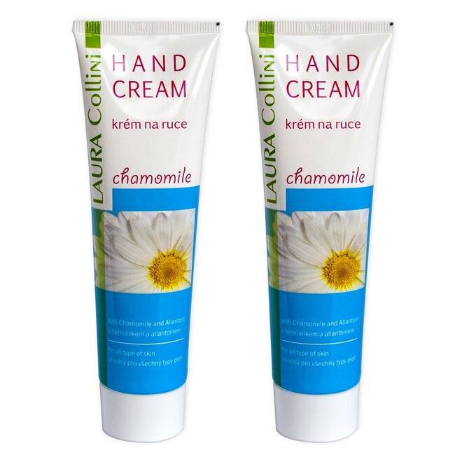 Krém na ruce Chamomile, 2× 100 ml