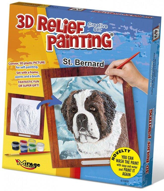 3D reliéfní obrázek – Bernardýn