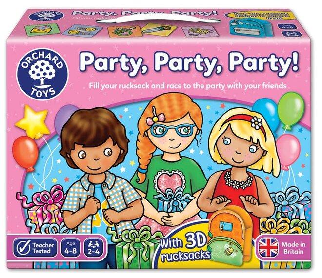 Vzdělávací hra - Holky, párty!