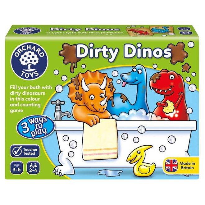 Vzdělávací hra - Dinosauři, do vany!