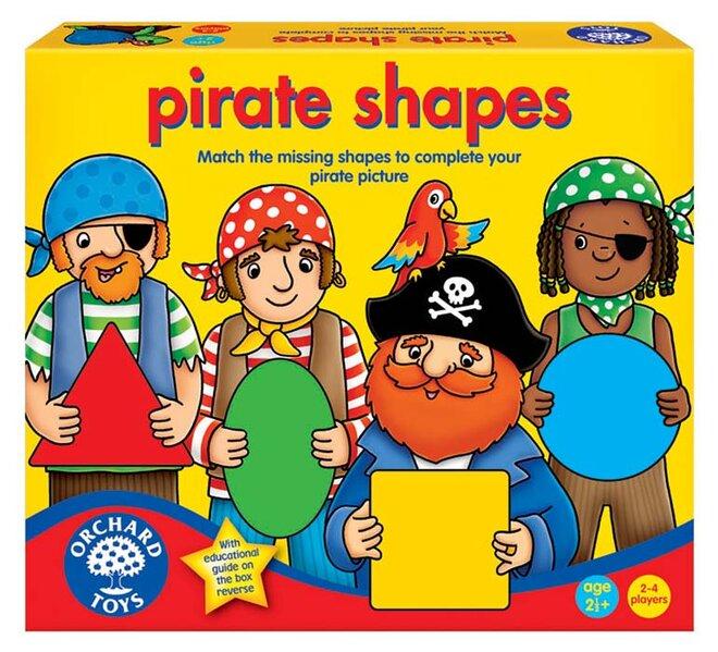 Vzdělávací hra - Učte se tvary s piráty