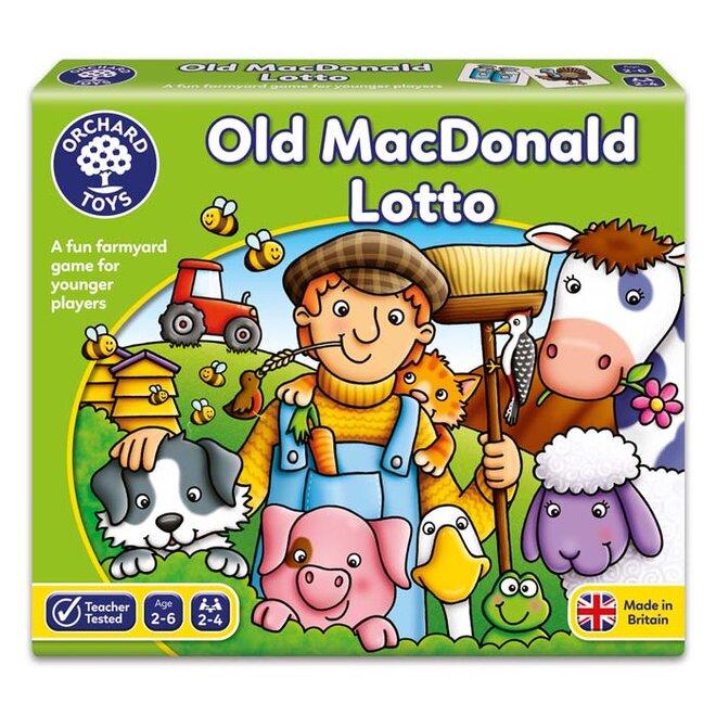 Vzdělávací hra - Ó, MacDonald, ten si žil