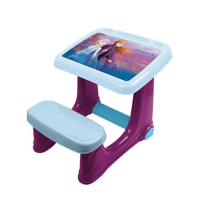 Dětský plastový stůl s židlí Frozen