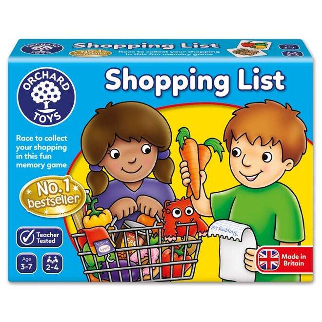 Vzdělávací hra - Nákupní seznam