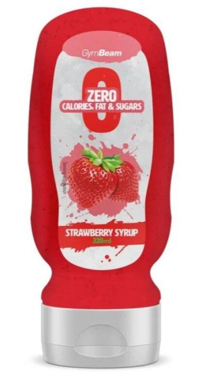 Bezkalorický sirup, jahoda (320 ml)