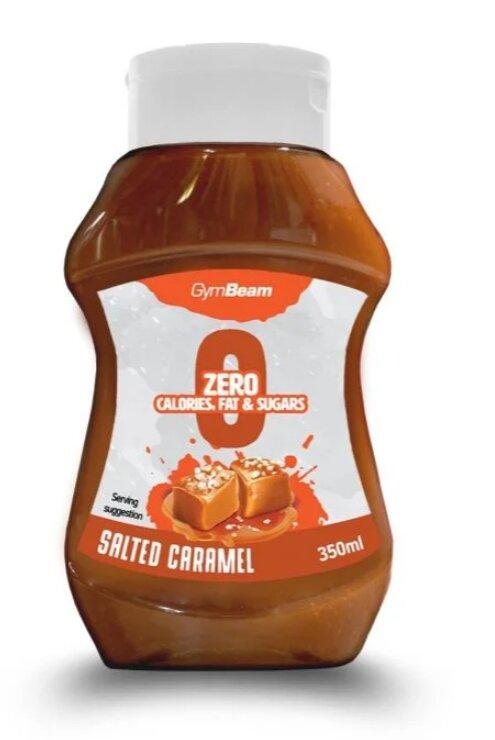 Bezkalorický sirup, slaný karamel (350 ml)
