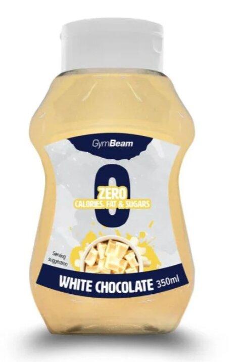 Bezkalorický sirup, bílá čokoláda (350 ml)