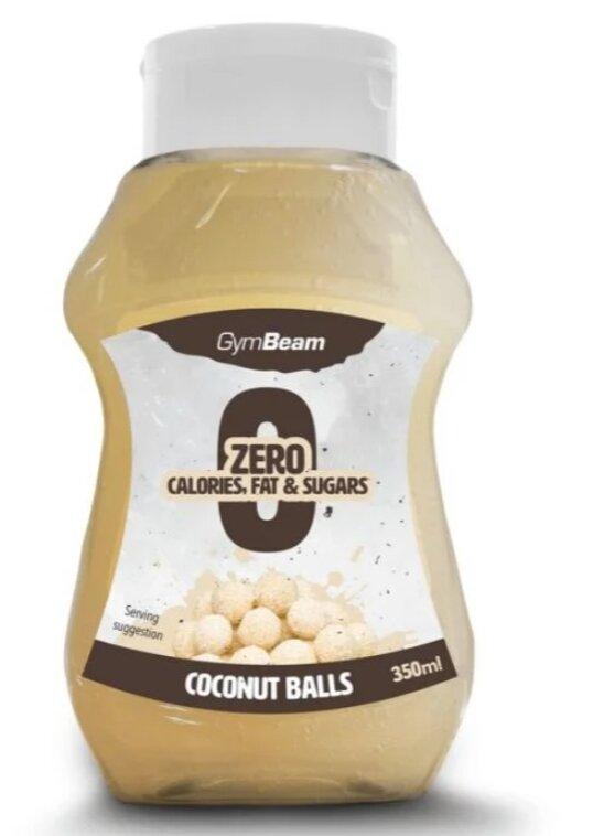 Bezkalorický sirup, kokosové kuličky (350 ml)