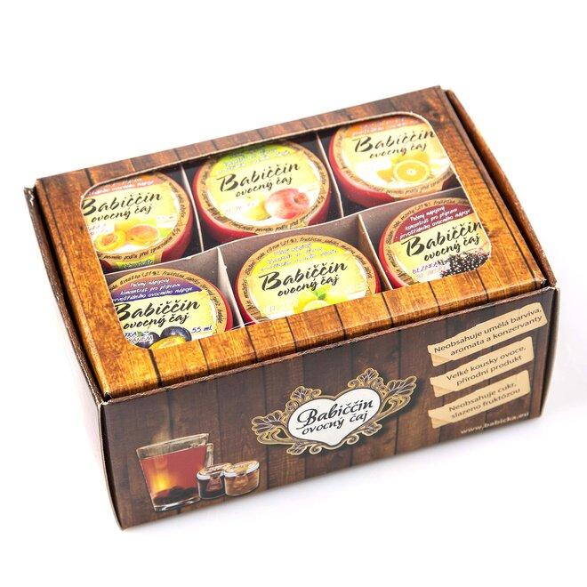 6× pečený čaj (à 60 ml) + dárková krabička