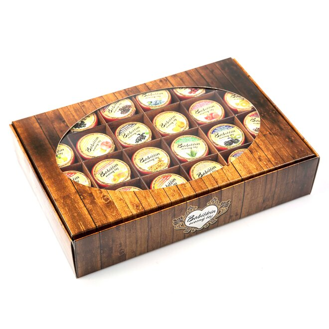 24× pečený čaj (à 60 ml) + dárková krabička