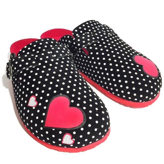 Dámské pantofle s plnou špičkou
