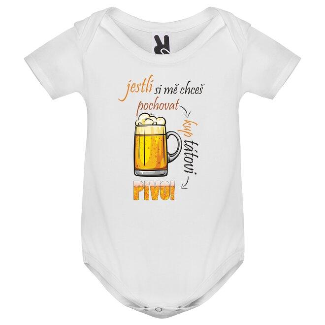 Dětské body Kup tátovi pivo