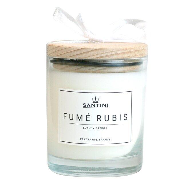 Vonná svíčka ve skle - Fumé Rubis