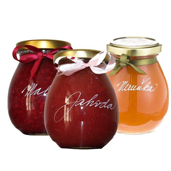 Oblíbená klasika 1 (jahoda, malina, meruňka)