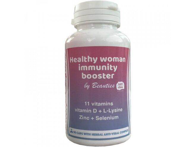 Healthy woman immunity booster – pro ještě lepší imunitu (90 kapslí)