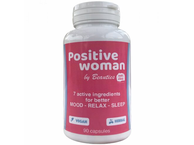 Positive woman – stres a nespavost (90 kapslí)
