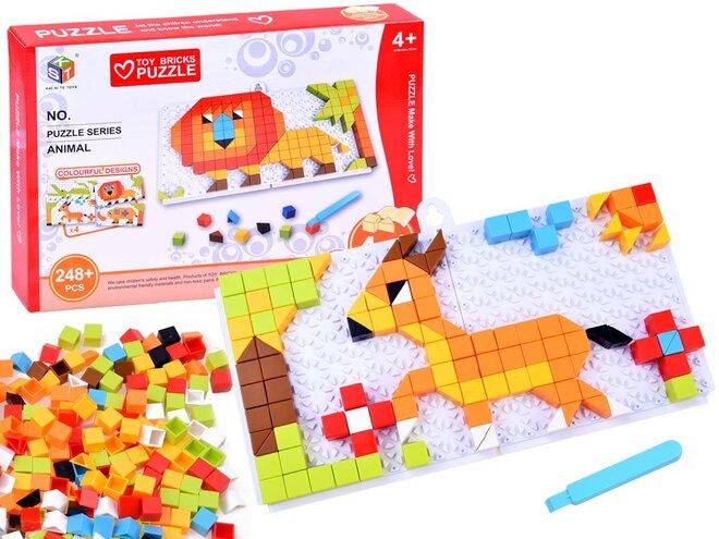 Kreativní sada Mozaika – Zvířátka