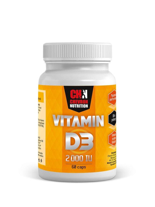 Vitamin D, 60 kapslí