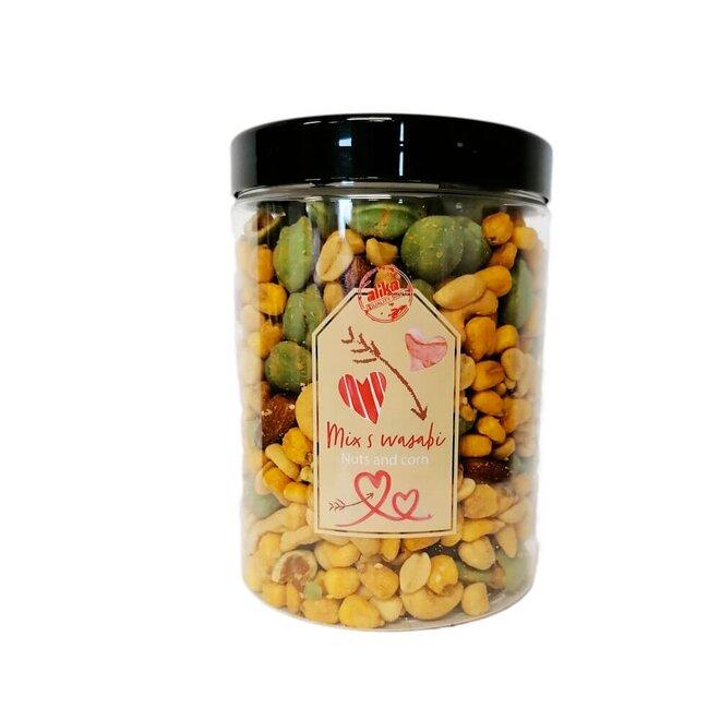 Mix solených ořechů a wasabi, 450 g
