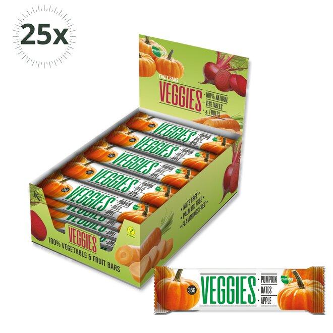 25x zeleninová tyčinka Veggies Dýně (750 g)